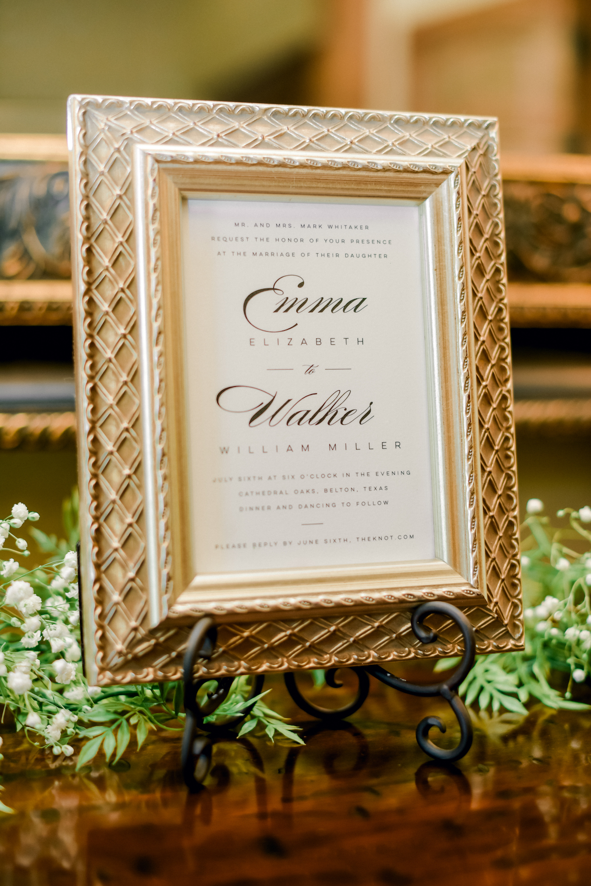 Ceremony Decor and Signage