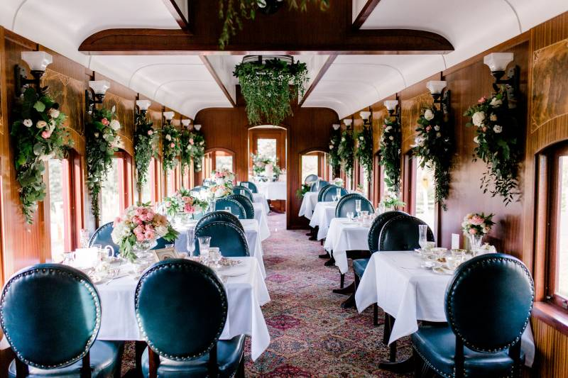 Vintage Locomotive Weddings At Calgary Wedding Venue