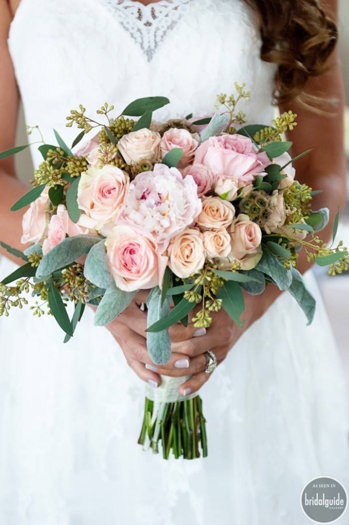 our favourite wedding bouquets calgary features