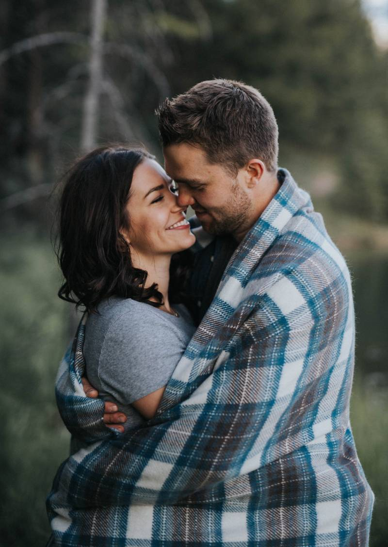 Rocky Mountain Engagement Session from Riana Lisbeth Photography