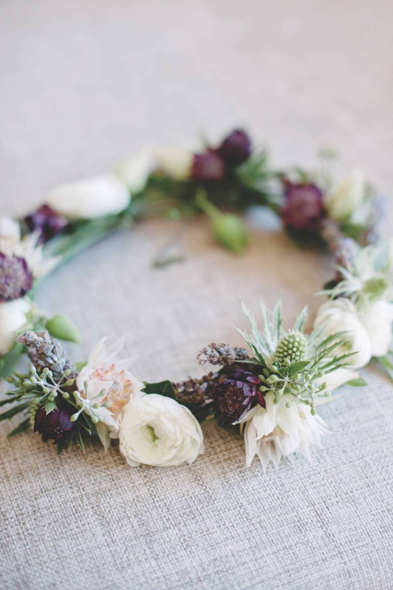 Bridesmaids Flower Crown
