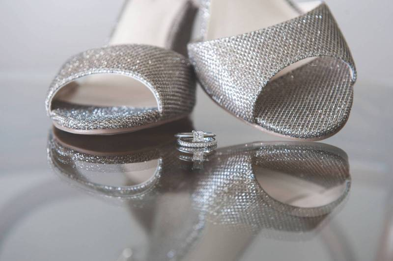 Sparkling Wedding Shoes