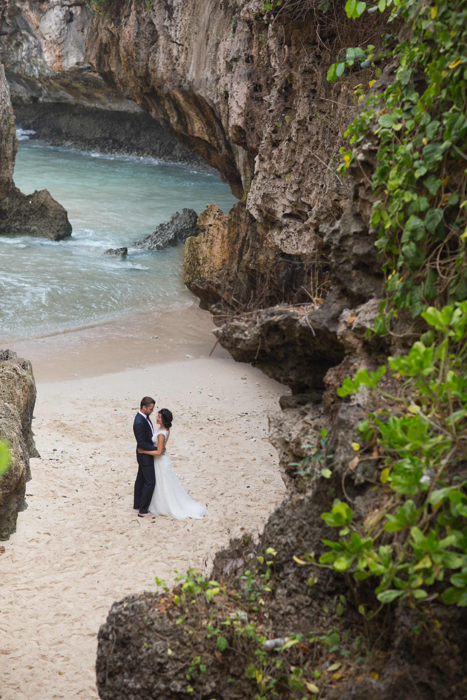 Destination Wedding On The Cliffs Of Bali Uluwatu