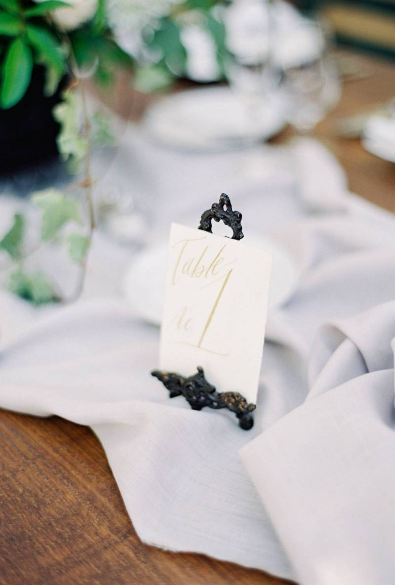 French-Inspired Dusty Blue Garden Wedding | Florida Real Weddings