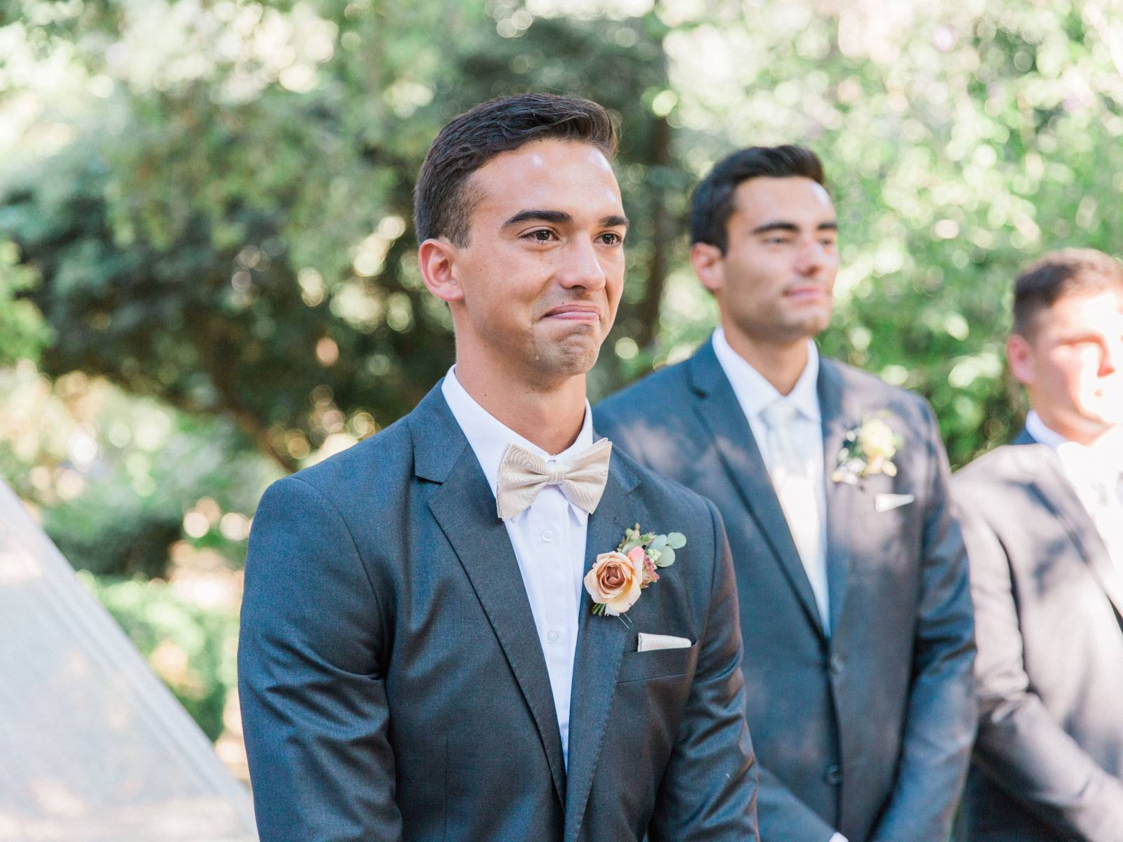 Simple heartfelt Southern California wedding honouring family ...