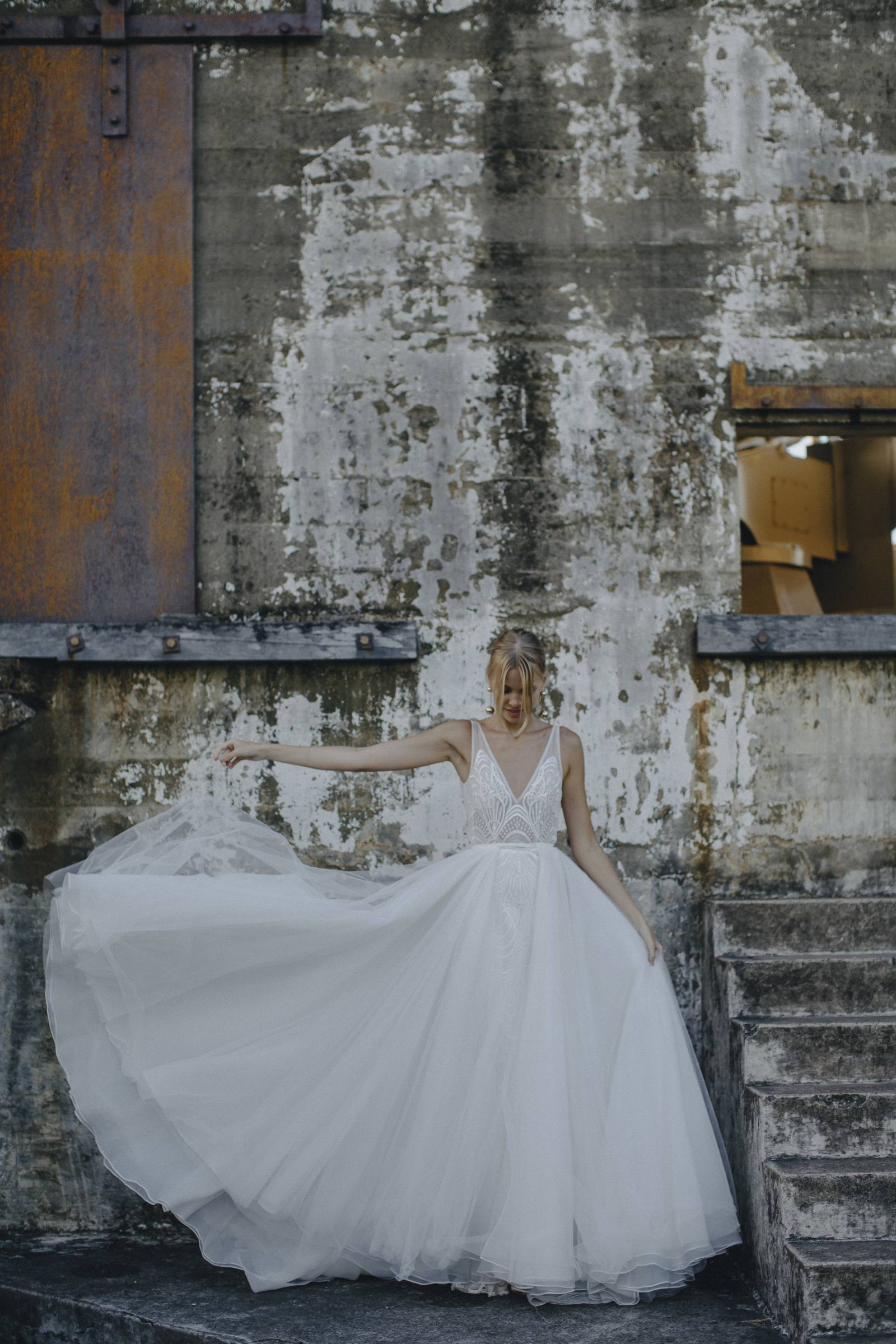 Modern and elegant wedding gowns from Made with Love Bridal | Bridal ...