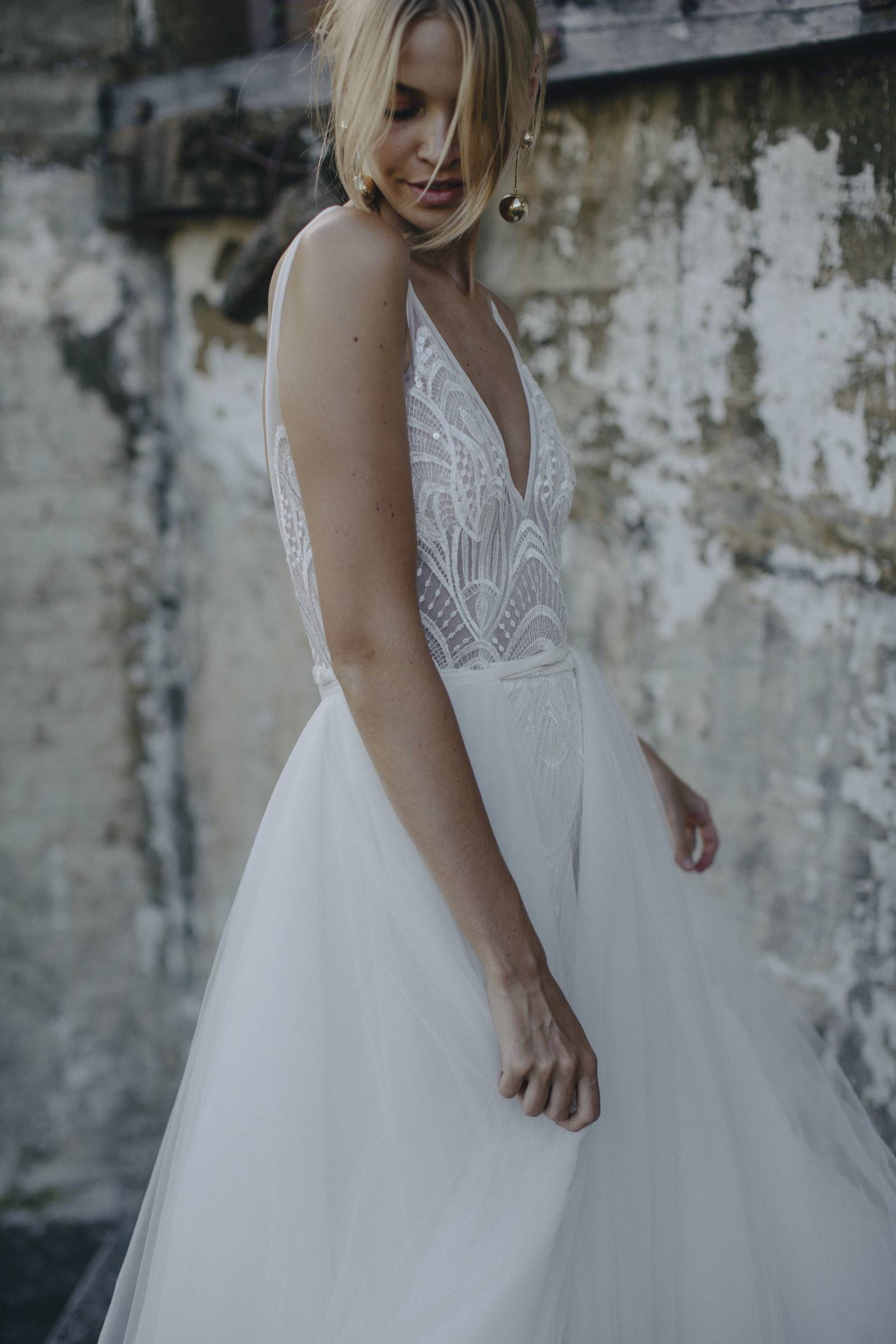 Modern and elegant wedding gowns from Made with Love Bridal   Bridal ...