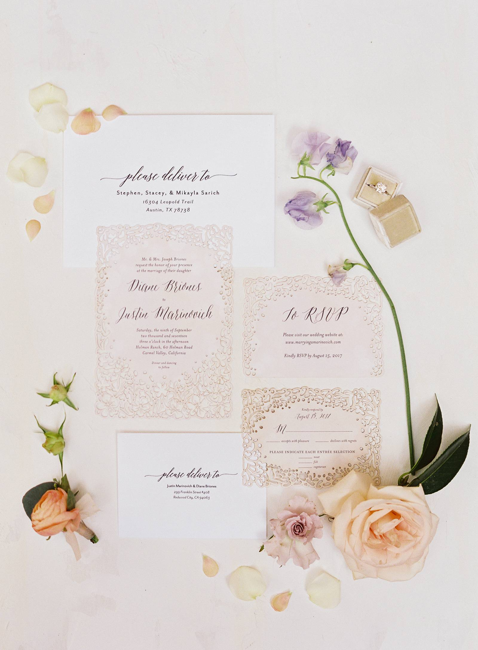 Stunning Carmel Valley wedding with meaningful and intentional ...