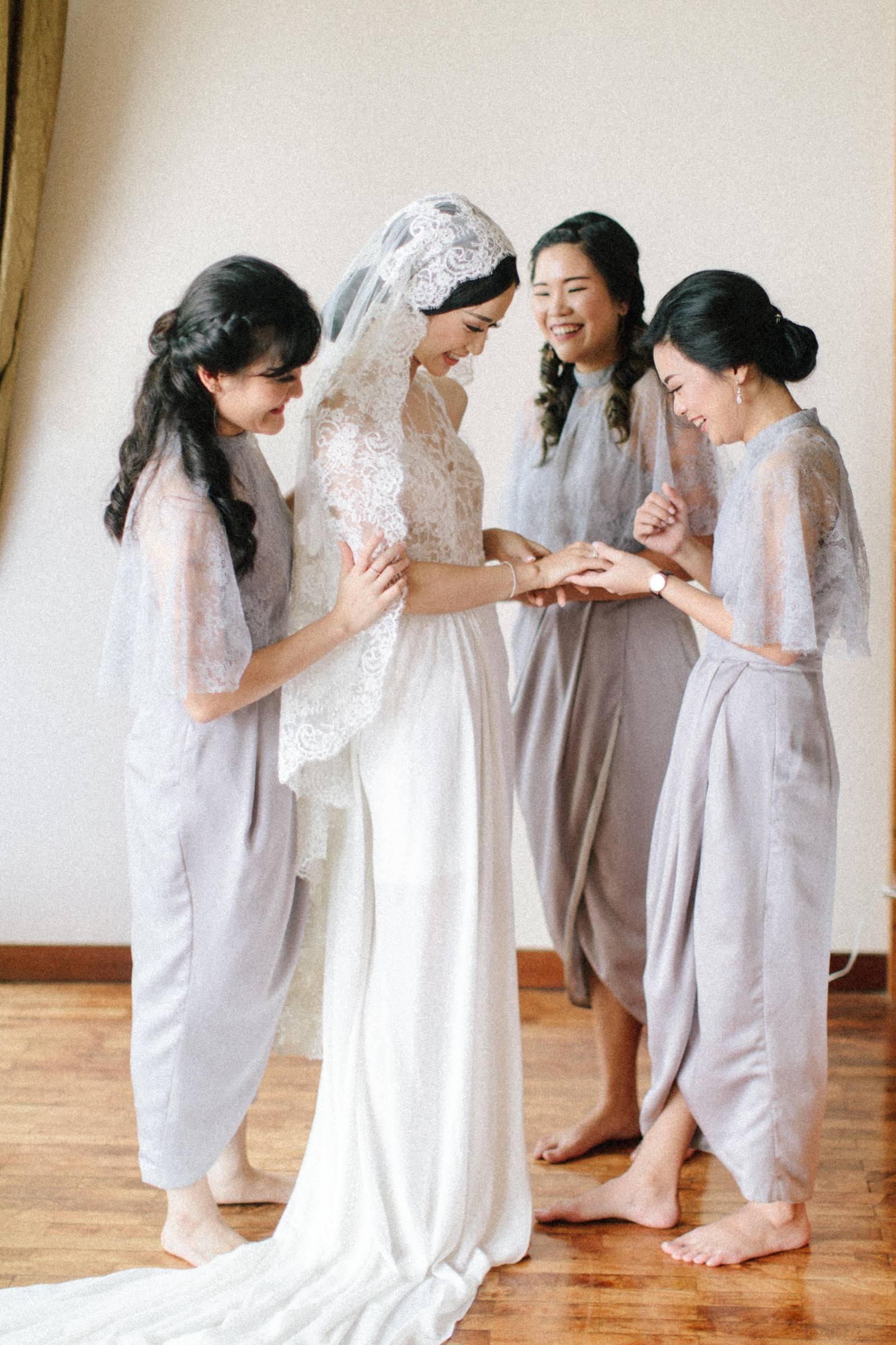 Small Intimate Bali Wedding On A Rainy Day Bali Real Weddings