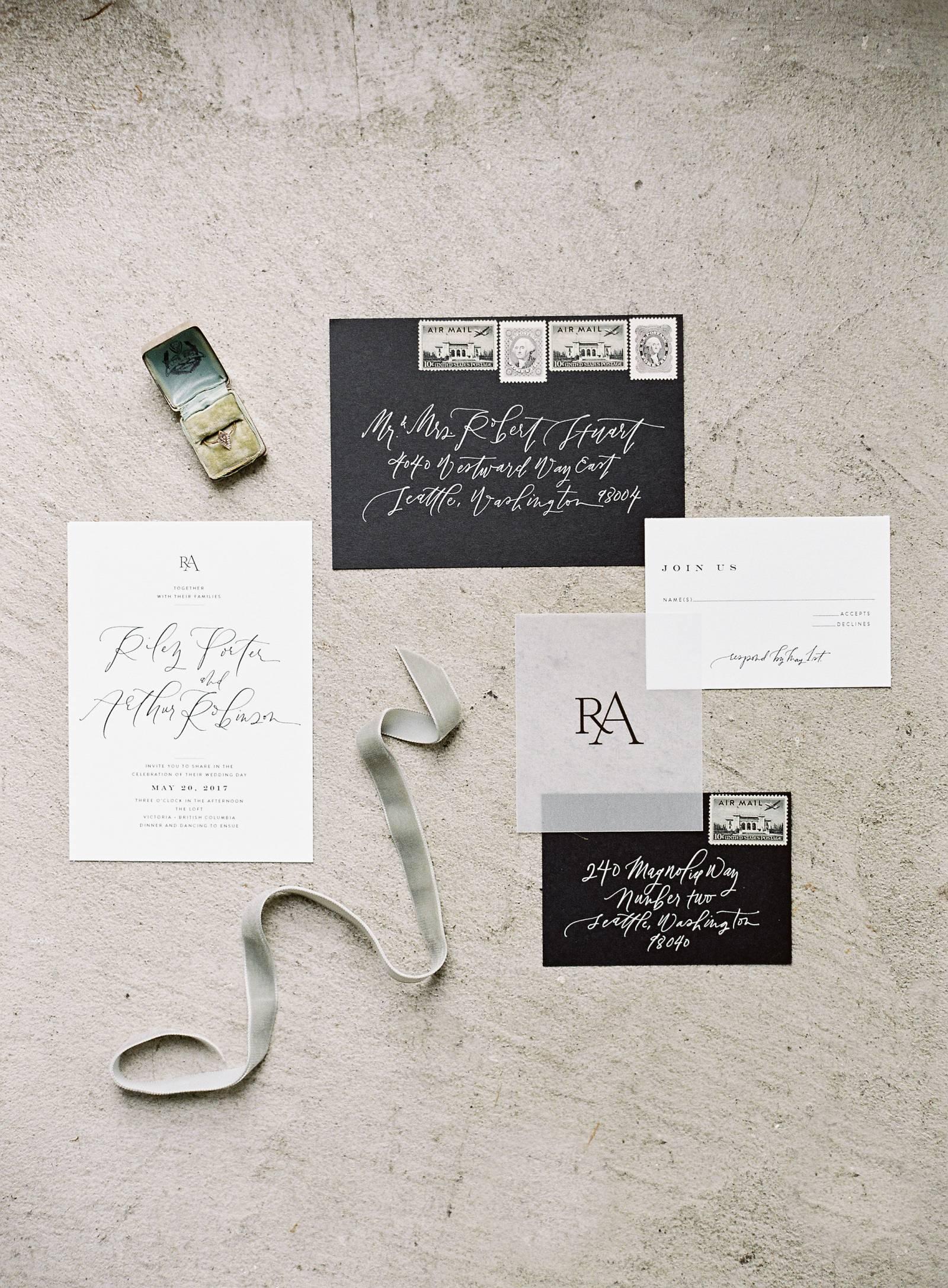 Modern, clean & minimal wedding ideas | Vancouver Wedding Inspiration
