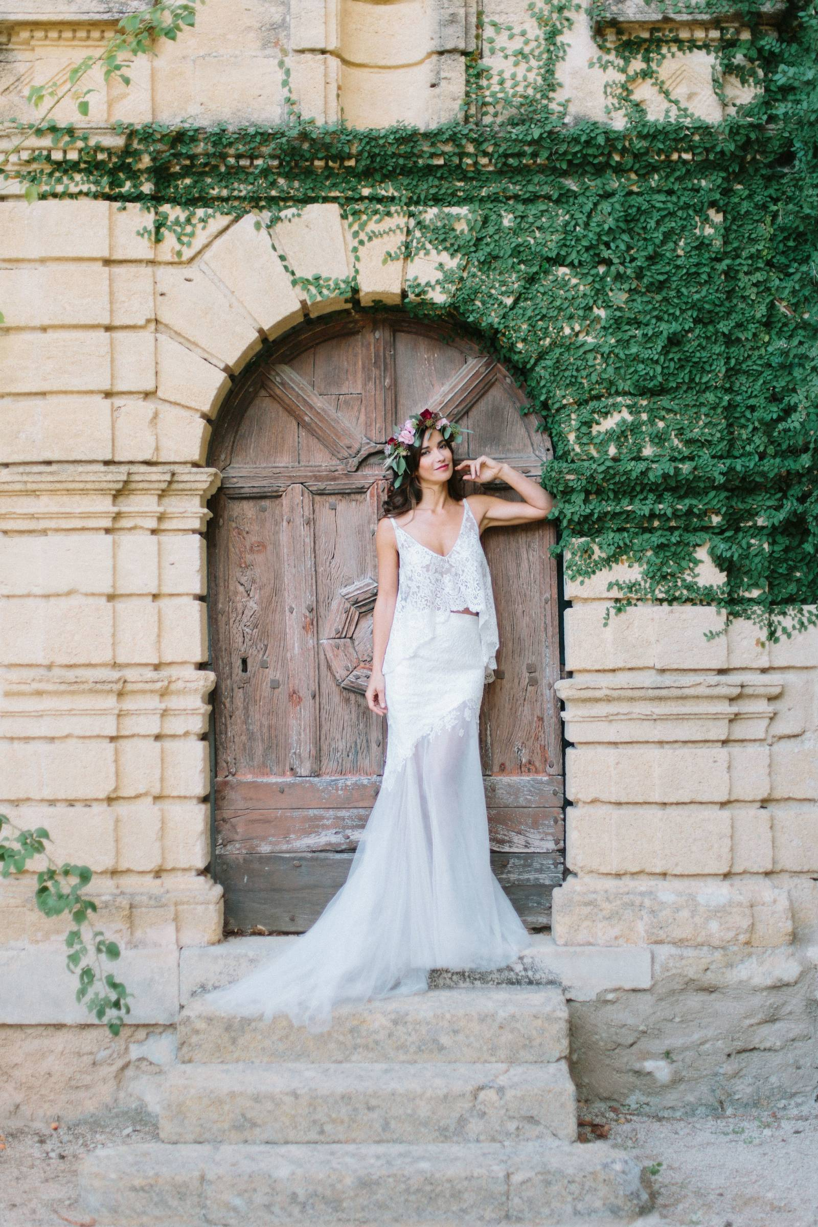 Elegance A La Francaise autumnal chateau inspiration in provence | provence wedding