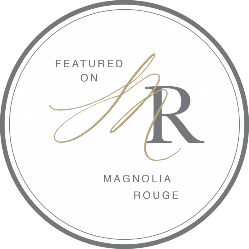 Image result for magnolia rouge badge