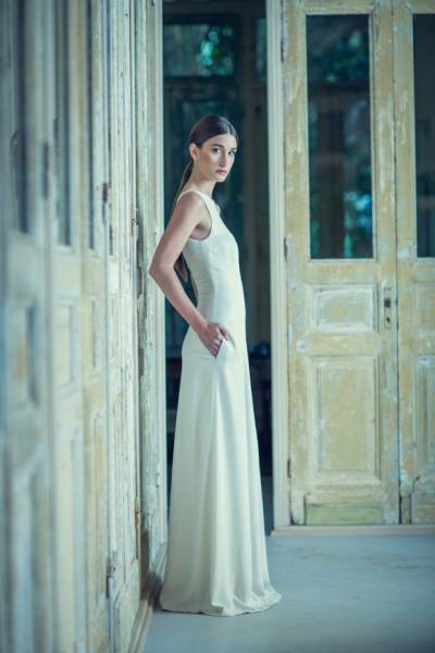 Stylish Modern Wedding Line From Joelle Perry