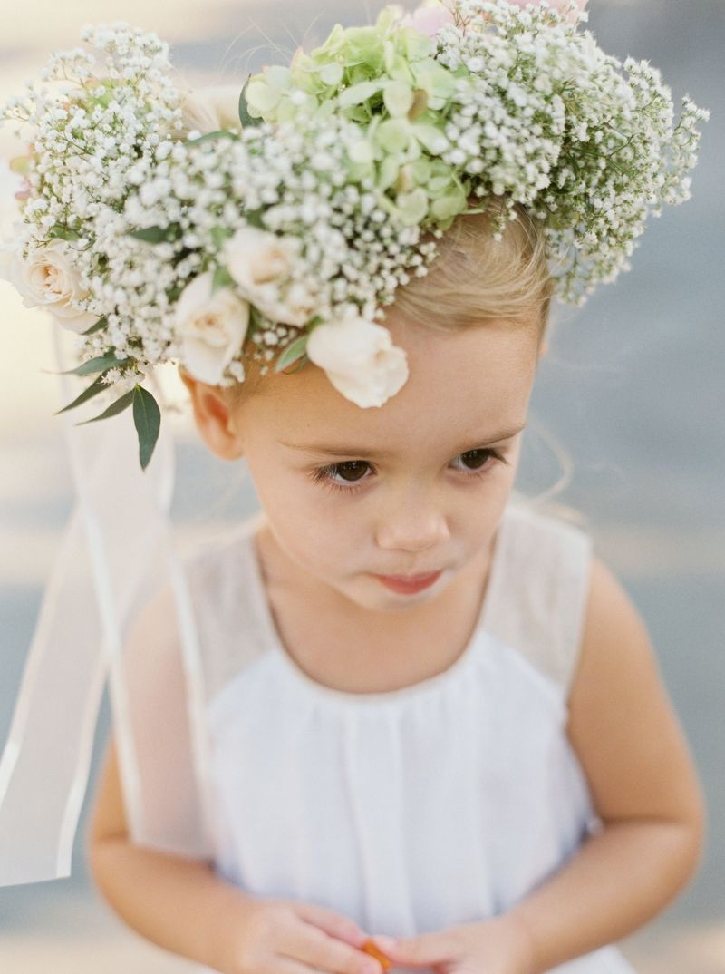 Flowergirl with floral crown