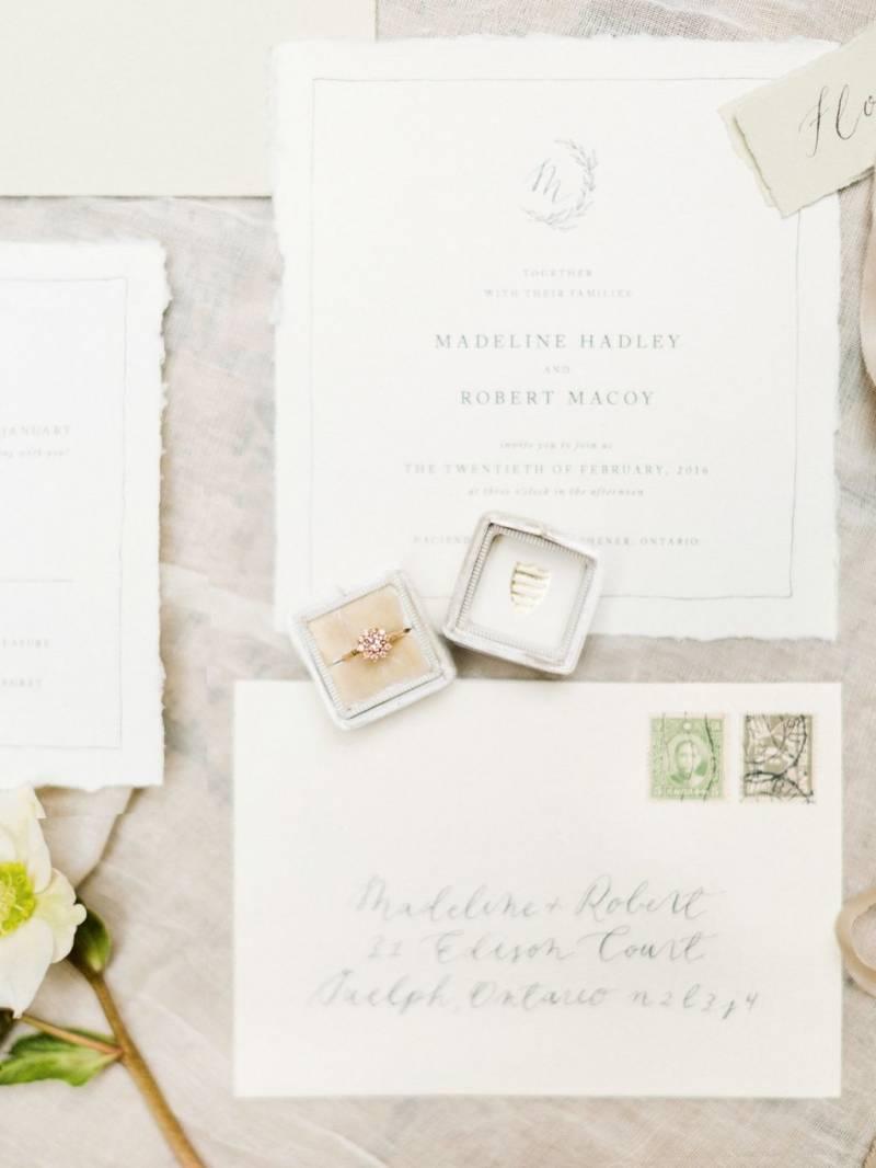 Elegant & Timeless Wedding Ideas | Canada Wedding Inspiration