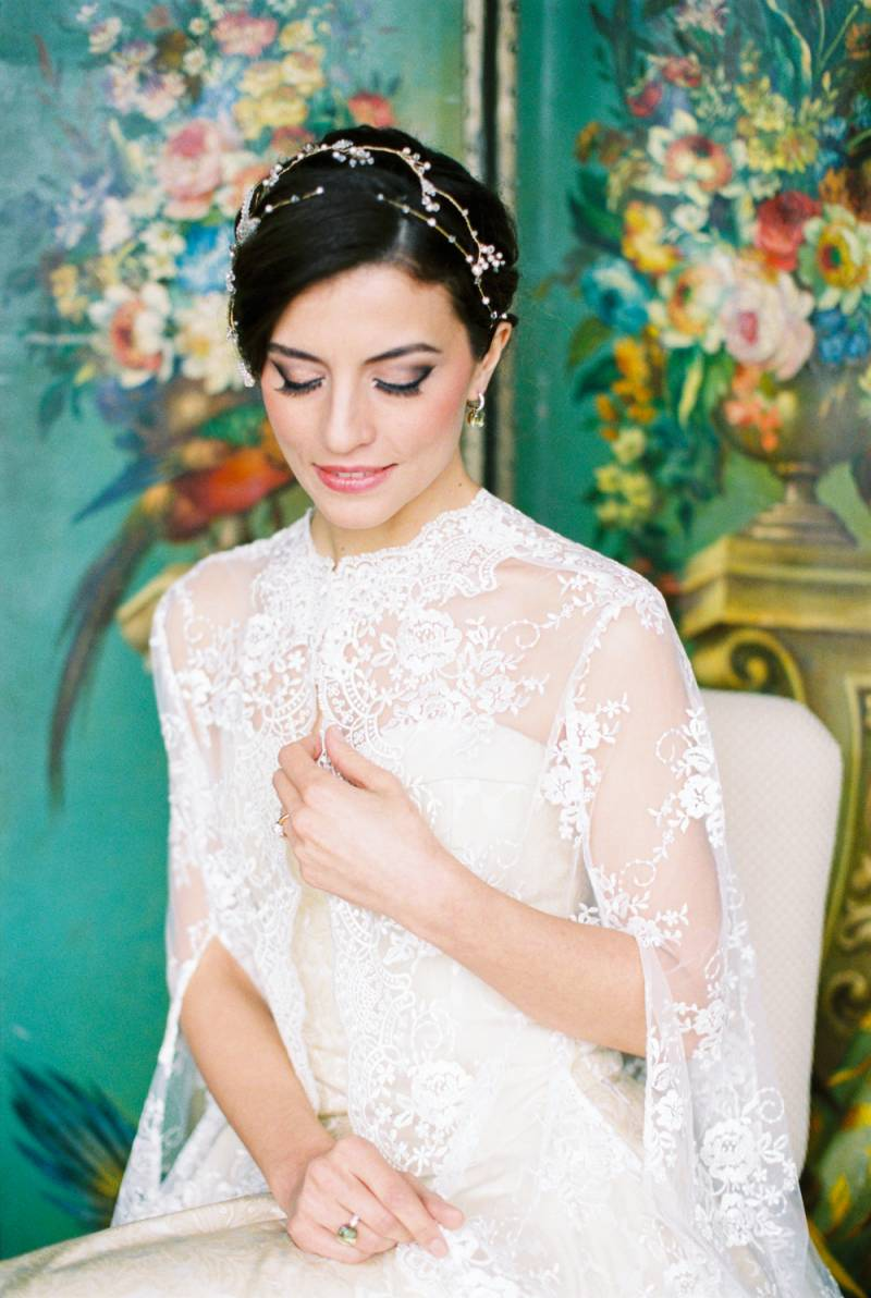 A Lace Bridal Cape Which Matched The Grandeur Of Location Perfectly Team From Hotel Schloss Fuschl Supported Us In All Our Ideas