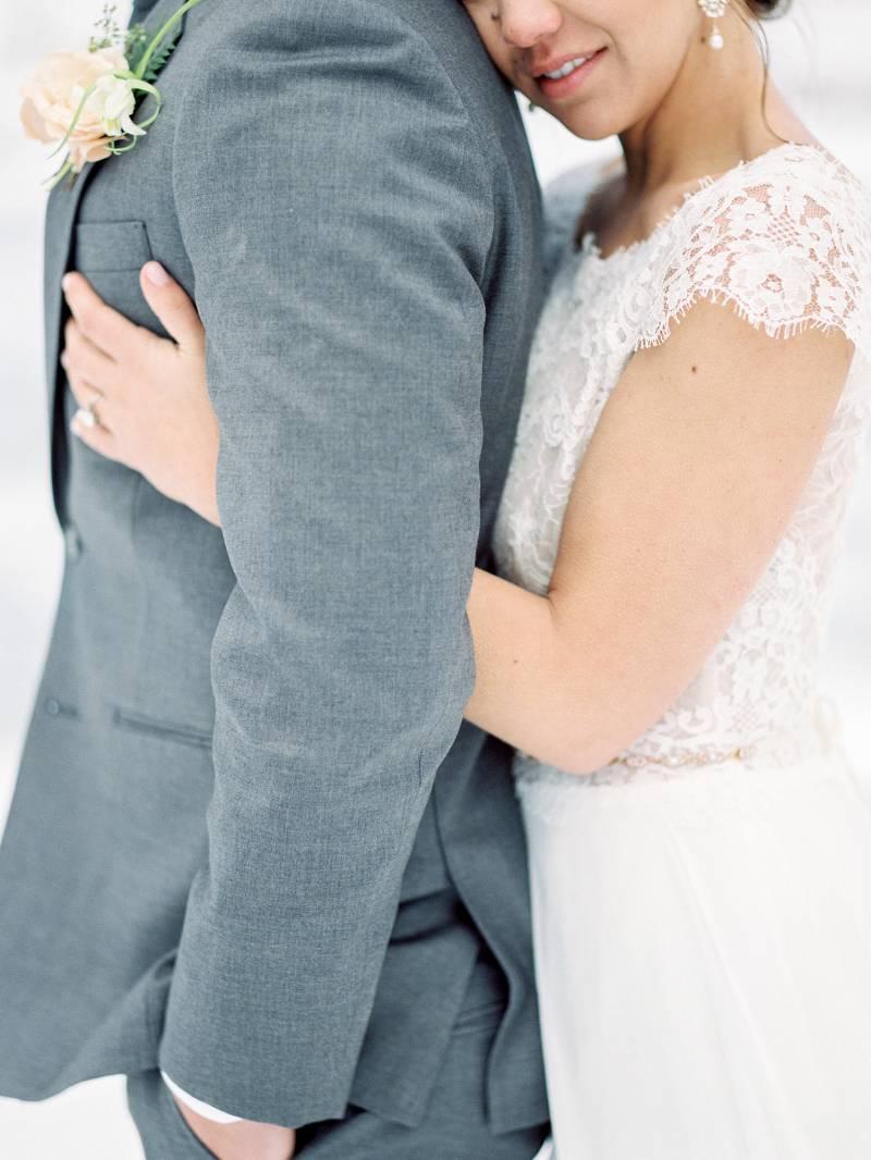 Romantic winter wedding ideas in the snow | California Wedding ...