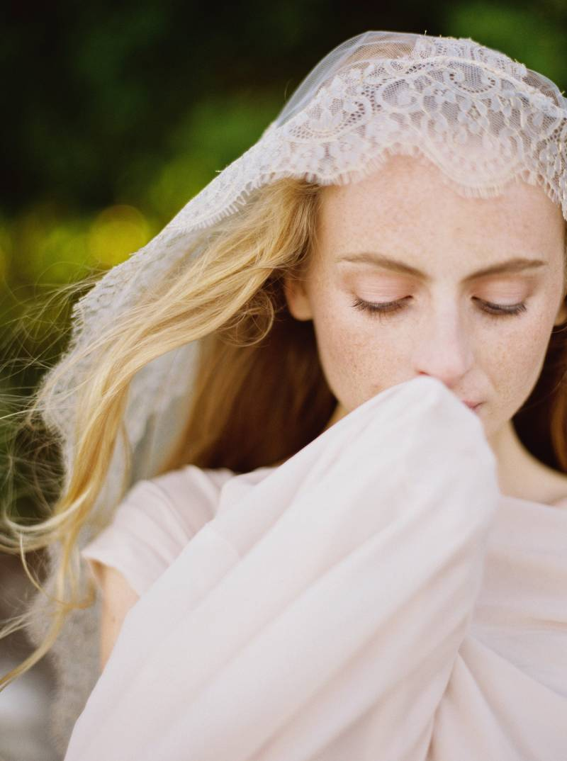 Ethereal Bridal Inspiration In Softest Blush Pink Auckland