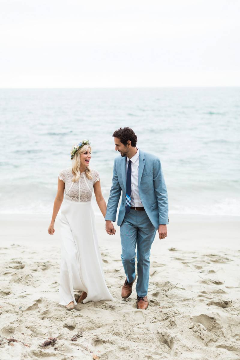 Year Vow Renewal On Laguna Beach