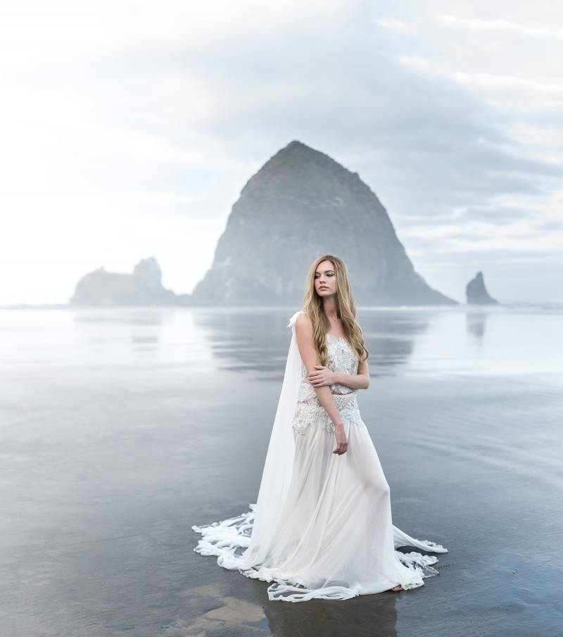 Coastal Wedding Ideas: Moody Coastal Wedding Ideas