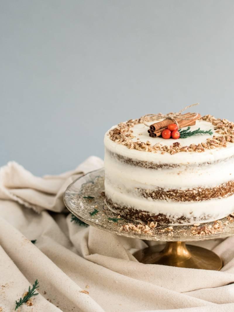 Naked Holiday Cake Three Ways Lifestyle