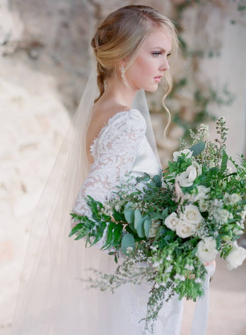 Simple Clic Elegant European Bridal Style Colorado Wedding Inspiration