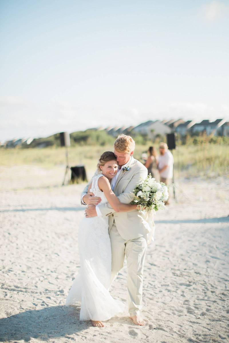 Relaxed Intimate Florida Beach Wedding