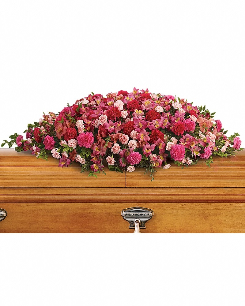 A Life Loved Casket Spray - For The Casket Flowers by In Full Bloom Winnipeg