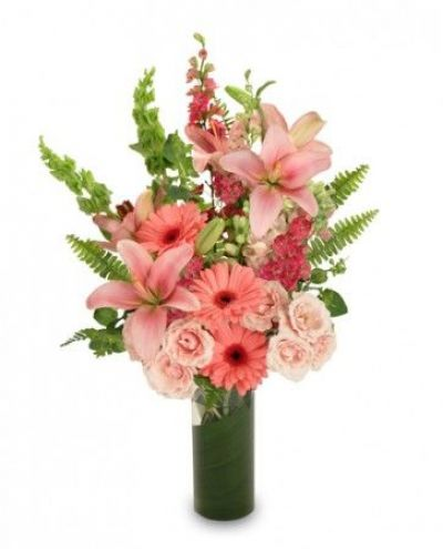 Pink Persuasion Bouquet  - Love & Romance Flowers by In Full Bloom Winnipeg