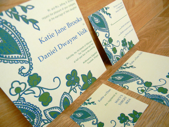 How To Word Your Wedding Invites Example 2