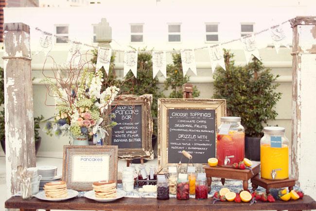 12 diy self serve wedding bars photo by sarah yates photography via green wedding shoes solutioingenieria Image collections
