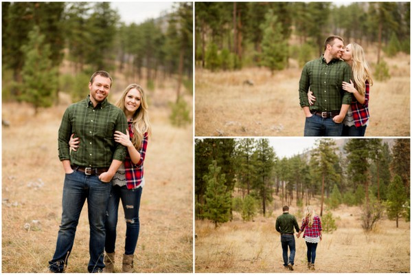 Lake Chelan Engagement, Fall Engagement, Washington Engagement