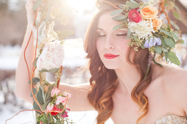 Wedding Makeup by Shasta Hankins, Photo by Urban Rose Photography