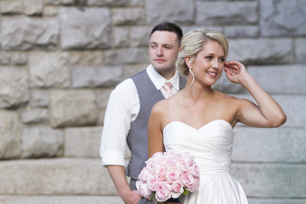 A Pretty And Pink Mansion Wedding