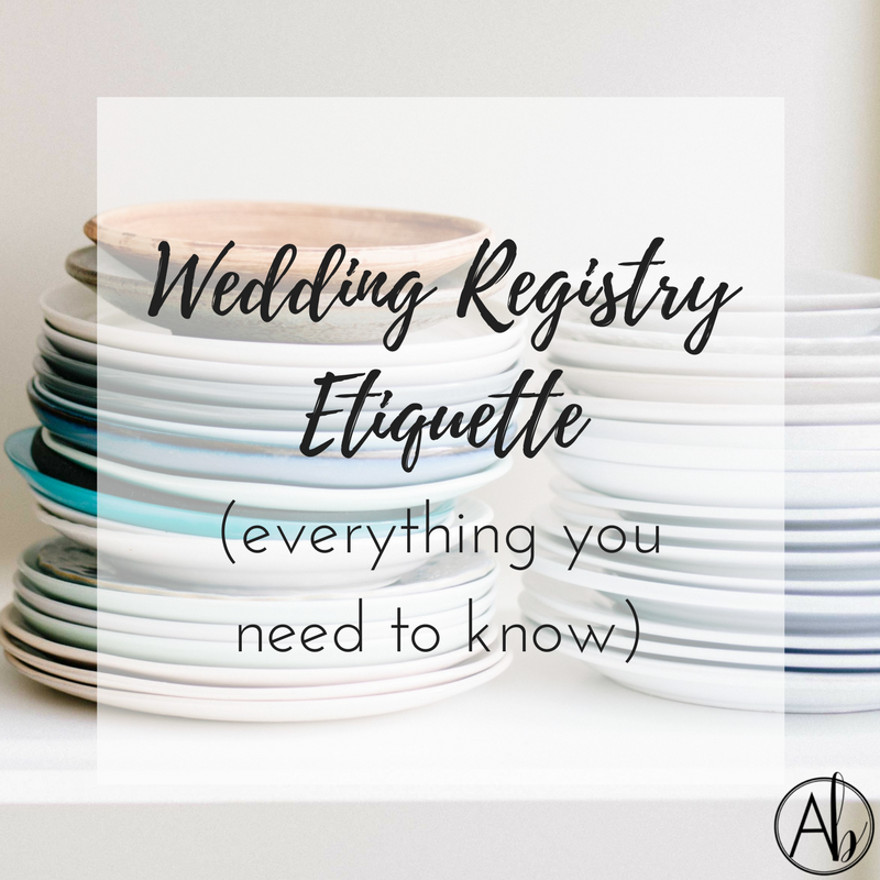 Wedding Registry Etiquette: Wedding Registry Etiquette (everything You Need To Know