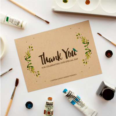 Who Do You Send Thank You Cards To After The Wedding