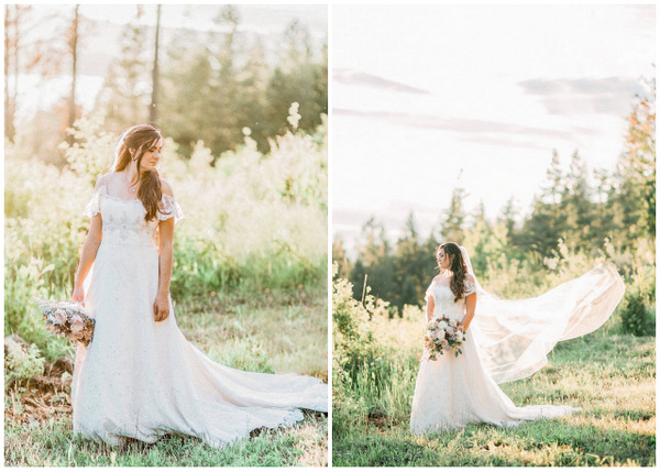 Timeless Fairy Tale Wedding In An Idaho Castle