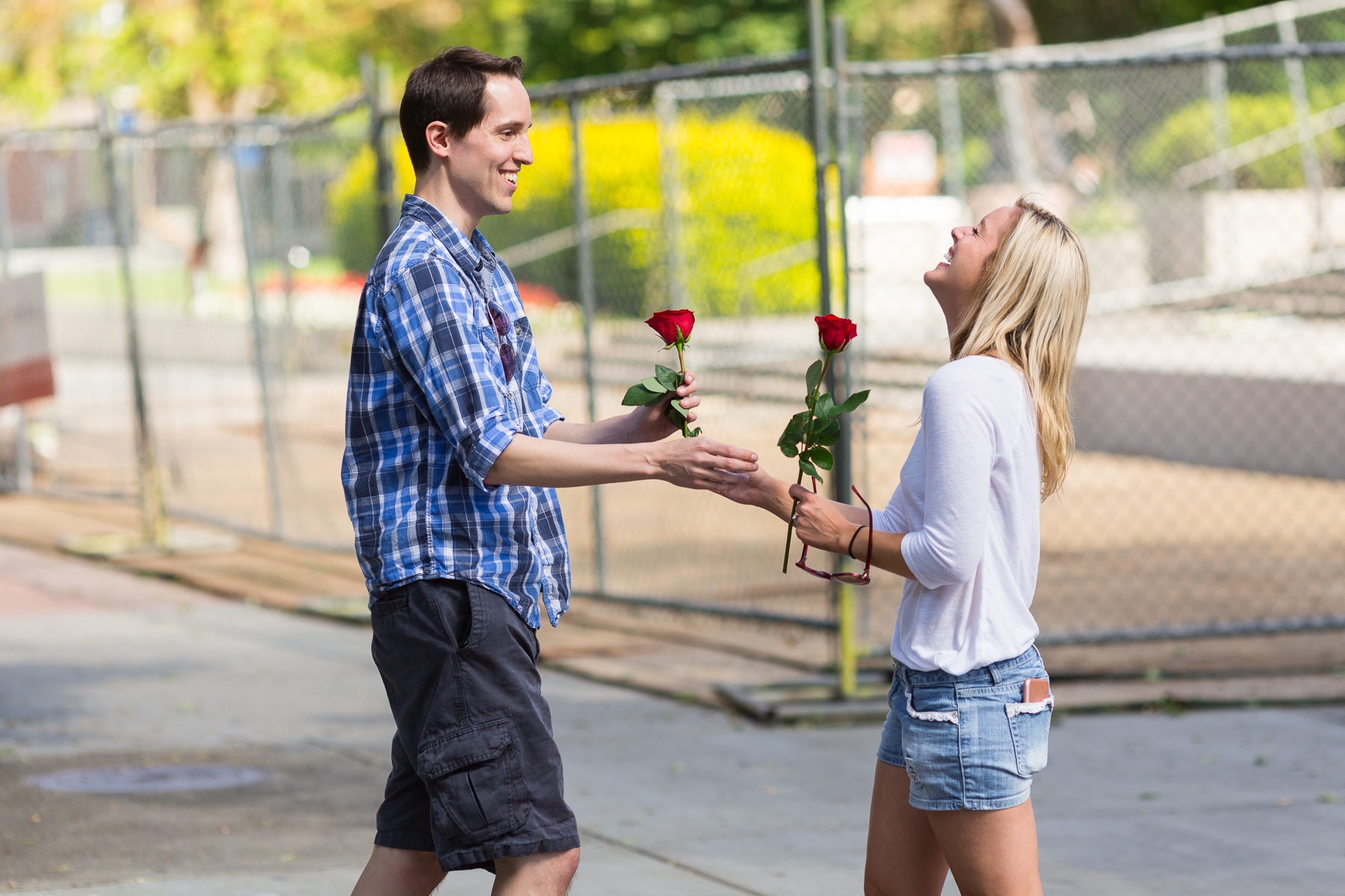 Sweet Surprise Gonzaga Proposal