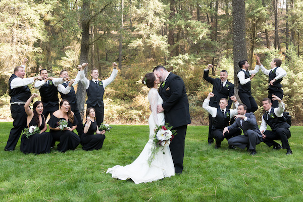 A Cozy Forest Wedding Full Of Contagious Smiles
