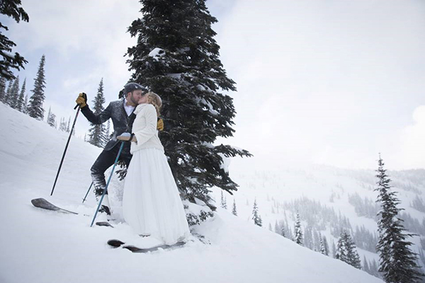 Spokane Wedding Venue: Schweitzer Mountain Resort