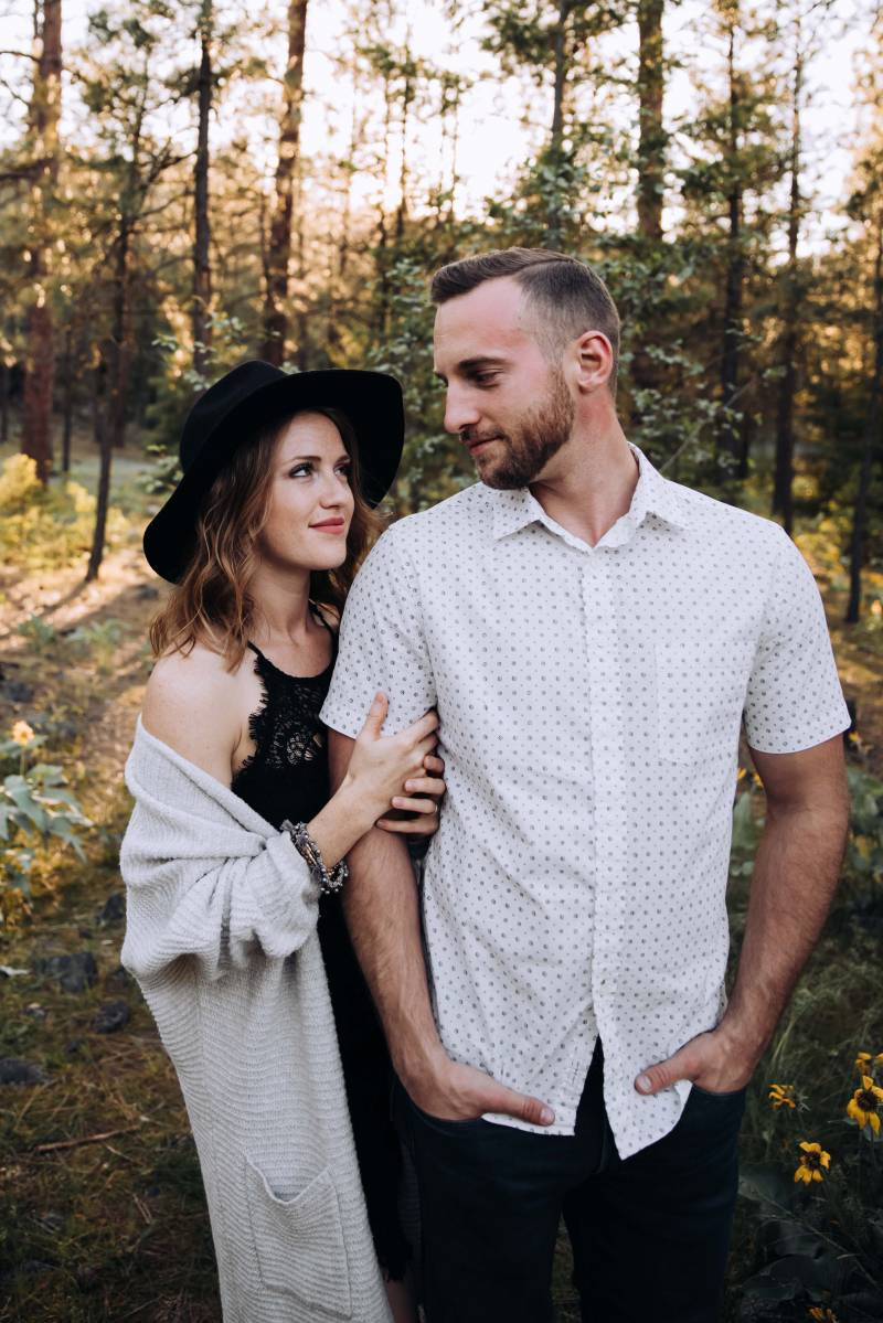 Stylish Riverside Engagement At Bowl And Pitcher on Apple Brides