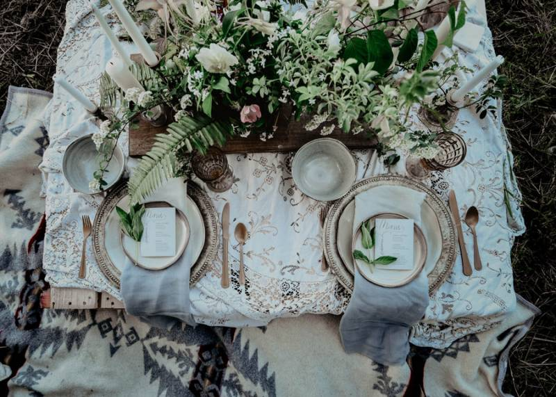 Intimate Palouse Wedding Inspiration at an Alpaca Farm on Apple Brides