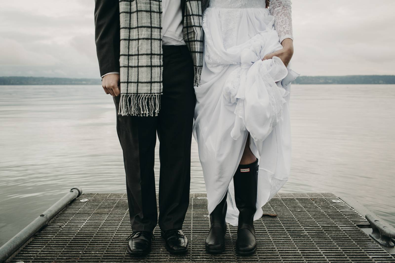 Woodsy & Intimate Sunrise Elopement in Camano, Washington on Apple Brides