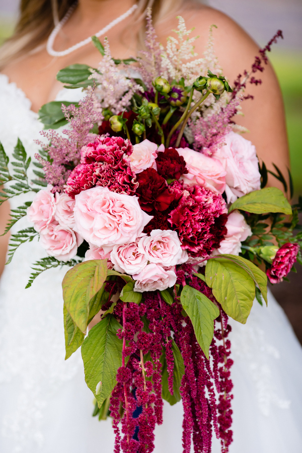 A Sunny Outcome for A Rainy Wedding Day with a Rich Color Palette on Apple Brides