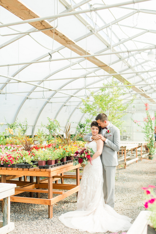 Colorful and Heartfelt Nursery Wedding in Prosser, Washington on Apple Brides