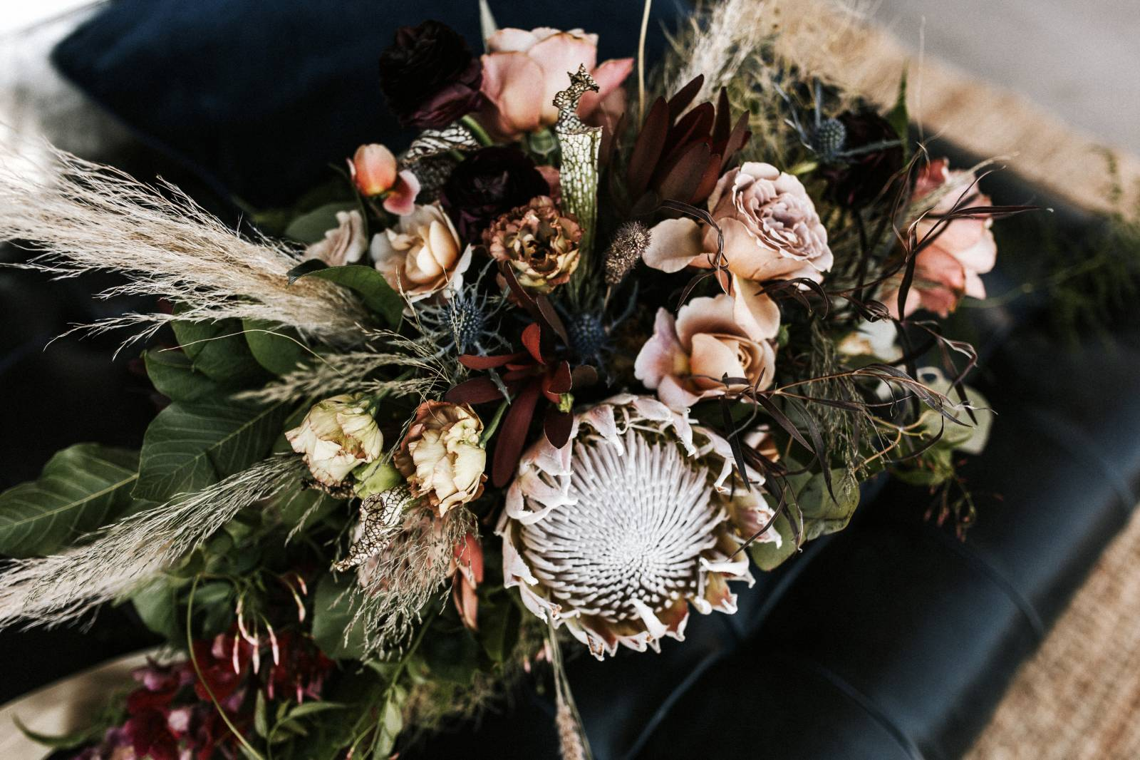 Gorgeous Boho Wedding With Tons of Texture on Apple Brides