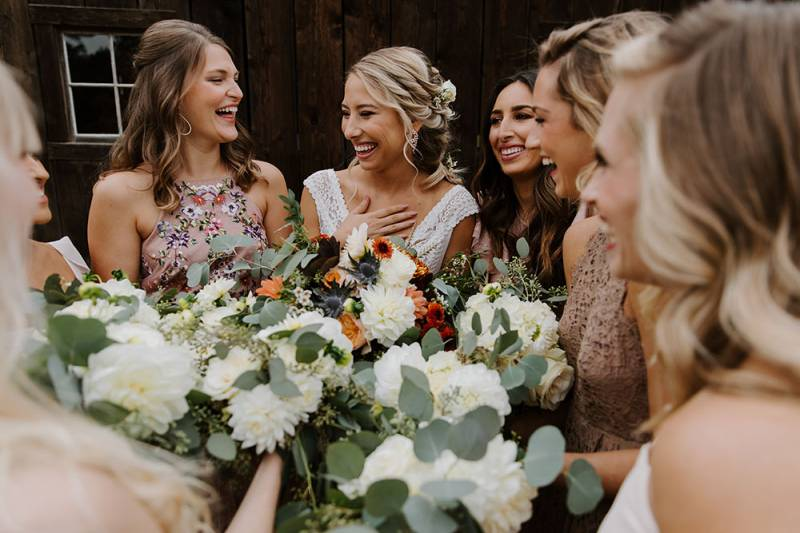 Joyful Fall Barn Wedding In White Salmon White Salmon