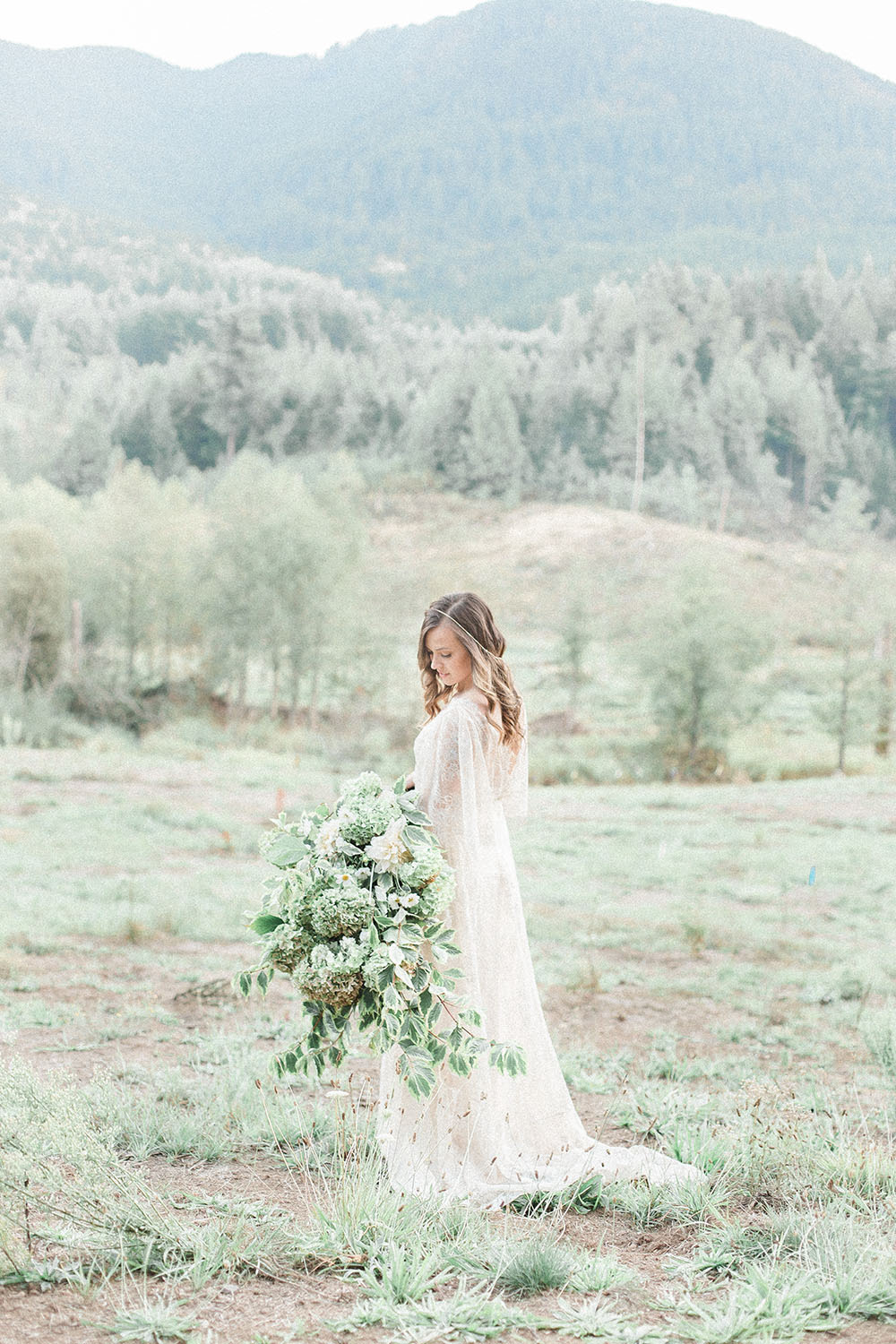 Dreamy Fairytale Engagement on Apple Brides