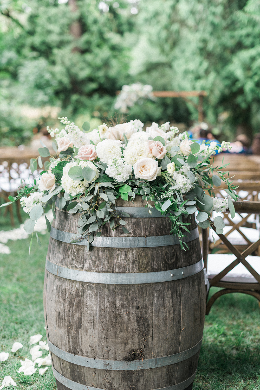 Light & Airy Woodland Winery Wedding on Apple Brides