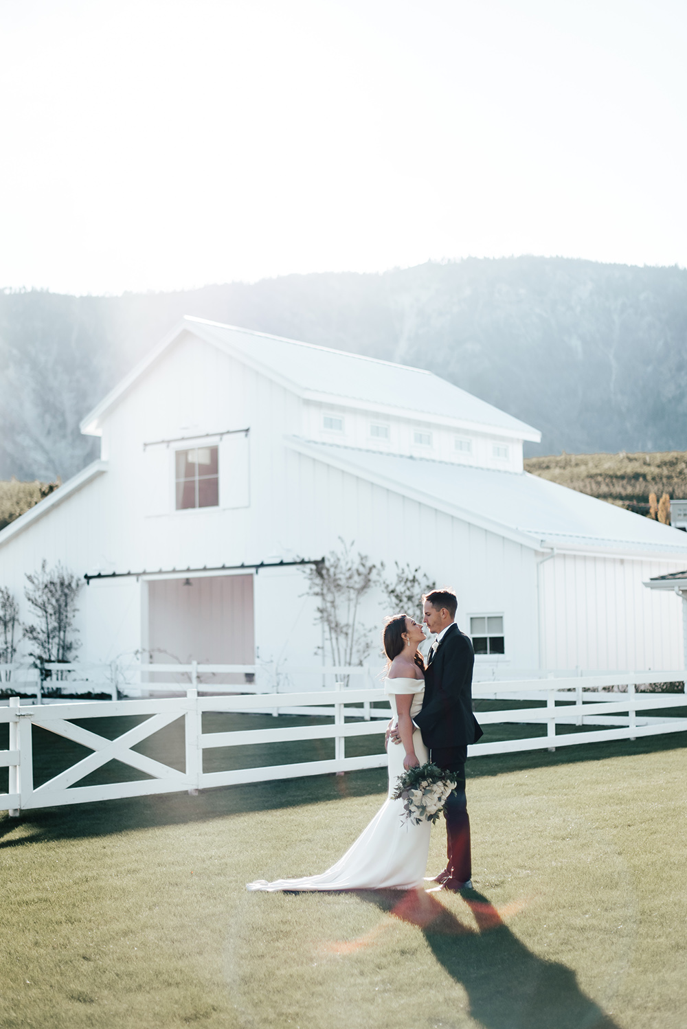 Classically Neutral Orchard Barn Wedding on Apple Brides